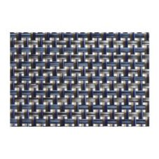"Front Of The House® 16""x12"" Indigo Basketweave Placemat"