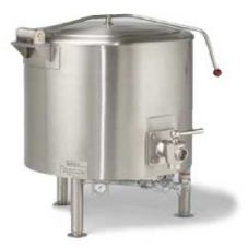 Vulcan Hart ST100 S/S 100 Gallon Direct Steam Fully Jacketed Kettle