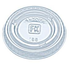 Fabri-Kal 9505082 Clear Plastic 1 Oz. Souffle Lid - 2500 / CS