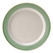 "Steelite 15290214 Simplicity Rio Green 6-1/4"" Slimline Plate - 36 / CS"