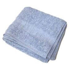 "Blue Wash Cloth, 12"" x 12"", 16 oz"