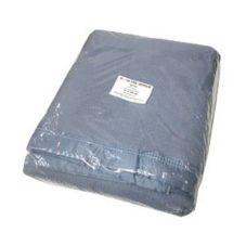 "Inn Style 50859 Blue 72"" x 90"" Ultra Woven Polyester Blanket"