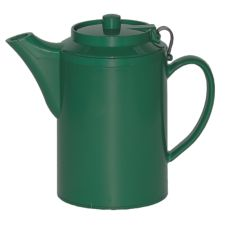 Service Ideas TST612FG 16 Oz. Forest Green Teapot with Tether