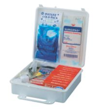 Service Ideas 1124SI 173-Piece First Aid Kit