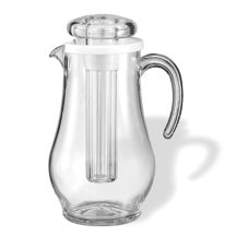 Service Ideas AWP19SB Acrylic 1.9 Liter Ice Tube Pitcher
