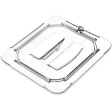 Carlisle® 10310U07 Top Notch Clear 1/6-Size Handled Food Pan Lid