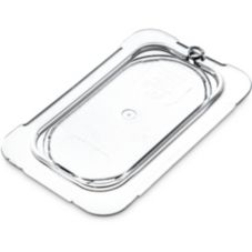 Carlisle® Top Notch® Clear One-Ninth Size Flat Food Pan Lid