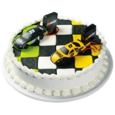 Bakery Crafts® CK-443C Nascar Launcher Cake Kit - 6 / BX