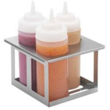 Server Products 86831 S/S Triple Unit Cold Table Bottle Holder