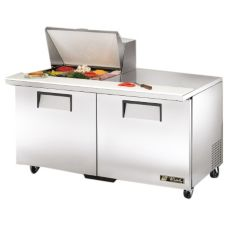 True TSSU-60-12M-B S/S 15.5 Cu Ft 12-Pan Top Sandwich / Salad Unit