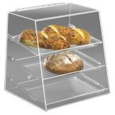 "Cal-Mil® 261 Countertop 16""H Non Refrigerated Display Case"