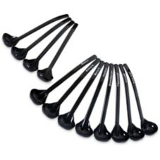 Carlisle® 28703 1 Oz. Black Ladle Assortment Pack - 12 / PK