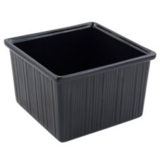 Bon Chef Black 7.5 Qt Space Saver Garnish Bowl