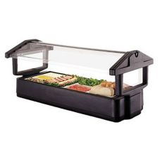 Cambro® 5FBRTT110 Black 4-Pan 5' Tabletop Food Bar
