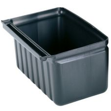 Cambro BC331KDSH110 Blk 2.5 Gal Silverware Holder for KD Service Carts