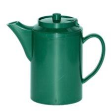 Service Ideas TS612FG Plastic 16 Oz.Forest Green Teapot - 6 / CS