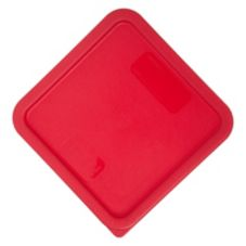 Carlisle Red Lid For 8 Qt StorPlus™ Sq. Food Storage Container