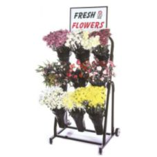 Mobile Merchandisers FC2440 Floral Back 9 Vase / Basket