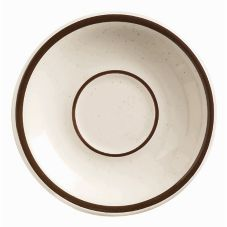 "World® Tableware DSD-2 Ultima Desert Sand 6"" Saucer - 36 / CS"