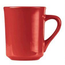 World Tableware TM-8-R Montego Bay Red 8.5 oz Tiara Mug - 36 / CS