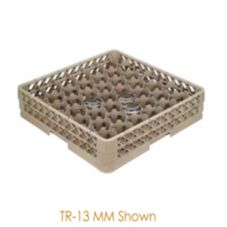 "Traex® TR13MMMMM Beige 42-Compartment 8-5/16"" High Glass Rack"