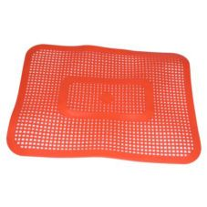 Small Orange Car Hop Tray Mat