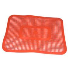 Large Orange Car Hop Tray Mat