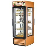 True G4SM-23-PT-LD Copper 23 Cu Ft Pass-Thru Refrigerator Merchandiser