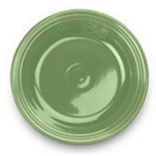 "Homer Laughlin 212324 Colorations Shamrock 6-1/2"" Plate - 36 / CS"