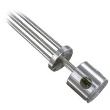 S/S 3-Hole Ball Plunger for B or F Cutters, 2""