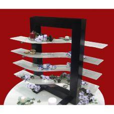 Isinglass WW001-600-23-FRAME Wood & Glass Merchandiser Frame