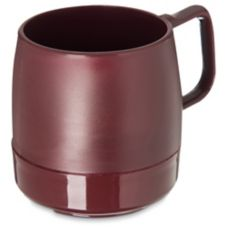 Dinex® DX119761 Classic Cranberry 8 Oz. Insulated Mug - 48 / CS