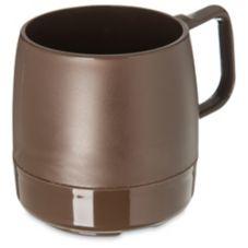 Dinex® DX119769 Classic Chocolate 8 Oz. Insulated Mug - 48 / CS