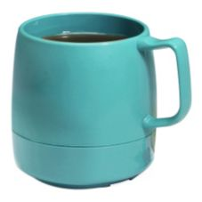 Dinex® DX119715 Classic™ Teal 8 Oz. Insulated Mug - 48 / CS