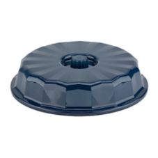 "Dinex® Tropez® Midnight Blue Hi-Heat 9.5"" Insulated Dome"