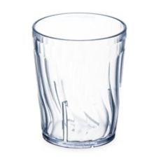 Dinex® DX4GC607 Clear 6 Oz. Swirled Iced Tea Tumbler - 72 / CS