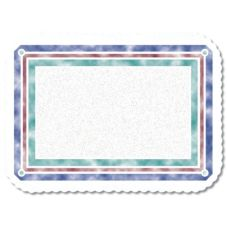 Dinex® DXR30001M Illusions Scalloped Tray Mat for Tray - 1000 / CS