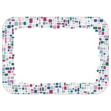 "Dinex® Linen Mosaic Embossed Traymat for 13"" x 19"" Tray"