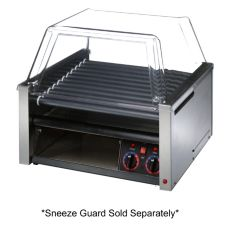 Star® Mfg Grill-Max® Duratec® Clear Door 30 Hot-Dog Grill