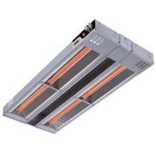 """APW Wyott FDDL-48L-I 48"""" 1760W Dual Heat Lamp w/ Infinite Control"""