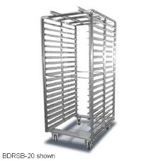 "Baxter 69.8"" x 28.38"" Roll-In Double Oven Rack"