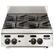 "Vulcan Hart Achiever 24"" Gas Hotplate w/ Four Burners"