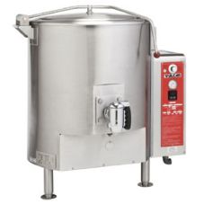 Vulcan Hart GL80E S/S Gas 80 Gallon Fully-Jacketed Stationary Kettle