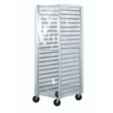 Advance Tabco Economy See-Thru Pan Rack Cover w/ 3 Zippers, PRC-2
