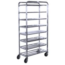 "SPG International 4H1561 8 Shelf 16"" x 32"" x 67"" Universal Cart"
