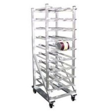 Kelmax 4H1582 Mobile Half-Size Can Rack For # 10 Cans