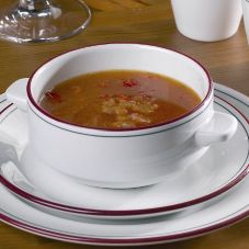 Steelite 13160115 Cabernet 10 Oz Lugged Stacking Soup Cup - 36 / CS