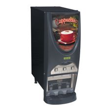 BUNN® 38600.0001 iMIX® Cappuccino Dispenser with 3 Hoppers