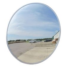 "Vision Metalizers Inc OC8000 8"" Round Outdoor Convex Mirror"