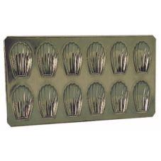 Matfer Bourgeat 310753 Small Tin Plate Madeleine Sheet